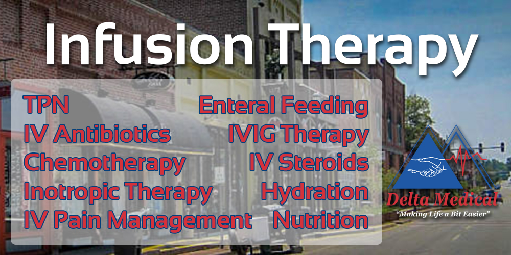 Our Infusion Pharmacy covers ALL of Arkansas